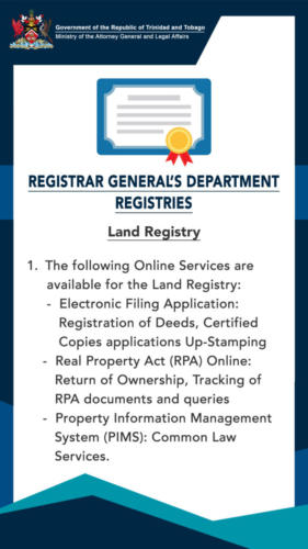 Revised Procedures Land 1