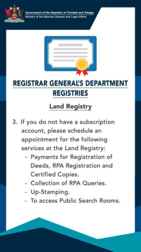 Revised Procedures Land 3